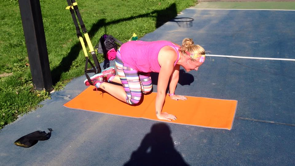 over 35 getting in shape with trainer