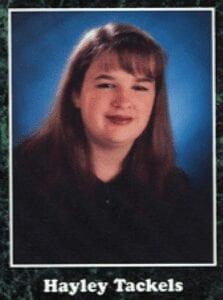 Hayley Tackels AHS 1996