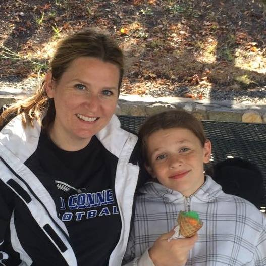 Carly Murdock and son
